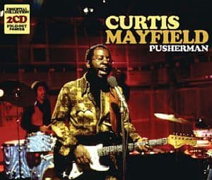 Curtis Mayfield<br>Pusherman<br>2CD, Comp